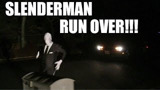 getlinkyoutube.com-SLENDERMAN RUN OVER BY CAR!! Extreme Rules Backyard Wrestling Match