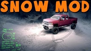 getlinkyoutube.com-SpinTires | Snow Mod! | Gameplay And Review