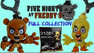 getlinkyoutube.com-FULL COLLECTION Five Nights at Freddy's Game FNAF Collector Clips Blind Bag With Chica, Foxy / TUYC