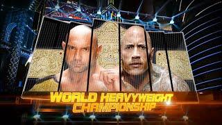 getlinkyoutube.com-WWE 2K15 | The Rock vs. Batista (WrestleMania 29) WHC Match