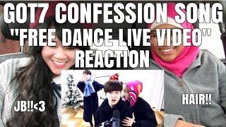 "getlinkyoutube.com-GOT7 (갓세븐) - CONFESSION SONG (고백송) ""FREE DANCE LIVE"" REACTION"