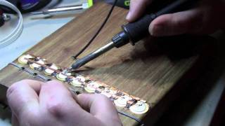 getlinkyoutube.com-Installing Piezo pickup on Mbira Dzavadzimu or Huru