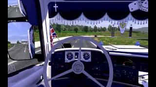 getlinkyoutube.com-Ets 2 gameplay Scania 730 v8 Blaine