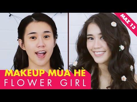 Makeup mùa hè FLOWER GIRL - Ngọc Thảo