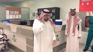 getlinkyoutube.com-زيارة مفاجئة لامير القصيم لمستشفى ببريدة فجراً