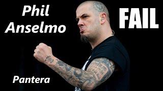 getlinkyoutube.com-Pantera Phil Anselmo FAIL | RockStar FAIL