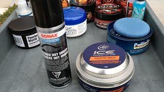 getlinkyoutube.com-SONAX Polymer Net Shield & ICE Paste Wax Durability Test - 5 Months