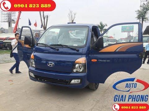 Giới Thiệu Hyundai H150 1.5 Tấn Hyundai Thành Công Porter 150