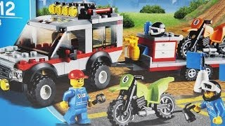 getlinkyoutube.com-Dirt Bike Transporter / Transporter motocykli - 4433 - Lego City - www.MegaDyskont.pl
