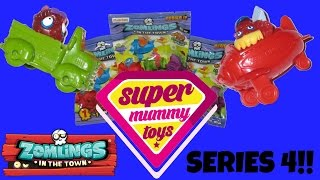 Zomlings Series 4 Zom Mobiles Blind Bags Toy Unboxing