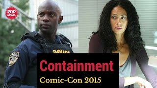 SDCC 2015: David Gyasi e Christina Moses de Containment