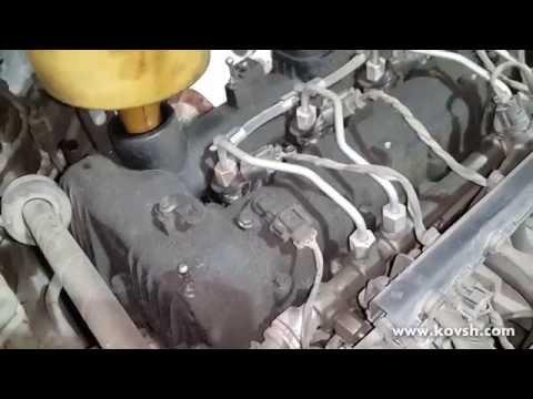 Запотевание из-под пластиковой крышки клапанов на Hyundai Santa Fe