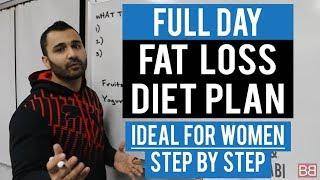 getlinkyoutube.com-Full Day FAT / WEIGHT LOSS DIET PLAN for WOMEN! (Hindi / Punjabi)