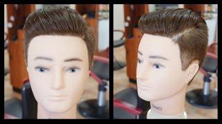 getlinkyoutube.com-Austin Mahone NEW Pompadour Haircut Tutorial - TheSalonGuy