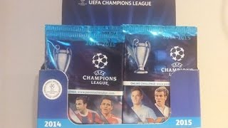 getlinkyoutube.com-█▬█ █ ▀█▀ - BOX PANINI CHAMPIONS LEAGUE 2014/2015 - unboxing boosters