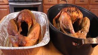 getlinkyoutube.com-Smoked Turkey vs Roasted Turkey - THANKSGIVING