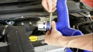 getlinkyoutube.com-Astra Turbo Dump Valve Installation - standard OEM plenum