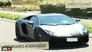 getlinkyoutube.com-coches de los jugadaores del Atlético y Real, Madrid