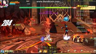 getlinkyoutube.com-[Elsword KR] 8-4 Very Hard: Boss Fire Priestess Ignia