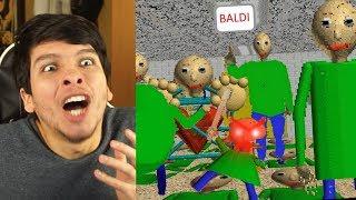 NUEVO FINAL!! ¿TODOS SON BALDI? MODO ÉPICO - Baldi's Basics In Education