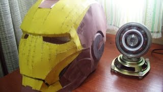 getlinkyoutube.com-Hacer Casco de IronMan en papel con Pepakura