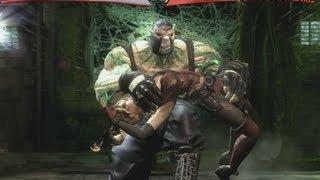getlinkyoutube.com-Injustice Gods Among Us - Knightfall Bane vs Arkham Harley