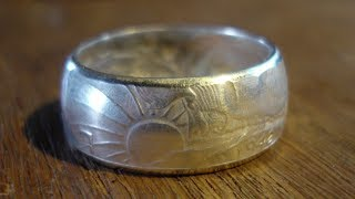 getlinkyoutube.com-Curling the Edges of a Coin Ring without a Ring Press
