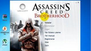 "getlinkyoutube.com-Cómo descargar e instalar Assassin's Creed: ""The Brotherhood"" |Full| |Español| |µTorrent| ᴴᴰ"