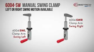Click to view An Introduction to the 6004 Series Manual Swing Clamps