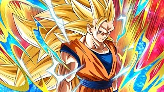 HOW MUCH DAMAGE? SSJ3 Goku + Gotenks TEQ Combo! DBZ Dokkan Battle!