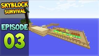 getlinkyoutube.com-Minecraft Xbox - Skyblock Survival - Island Extension Episode 3