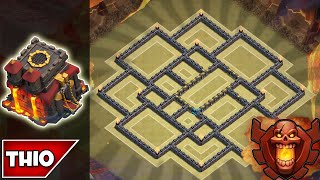 getlinkyoutube.com-Clash of Clans - *BEST* TOWNHALL 10 TROPHY/WAR BASE (Effective in Clan Wars) - 2015