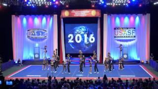 getlinkyoutube.com-California Allstars: Team - Black Ops: 2016 Worlds Cheer Finals