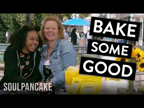 Watch How A Surprise Bake Sale Made People's Day!