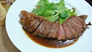 getlinkyoutube.com-【裏ワザ】誰でも簡単にミディアムレアのサーロインステーキを焼く方法