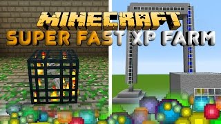 Minecraft Super Fast XP FARM Mob Spawner