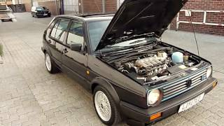 getlinkyoutube.com-Golf II 1,8 16V G60 Limited Edition Syncro (210 KM)