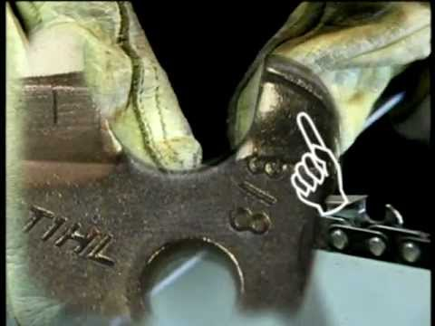 How to Sharpen a STIHL Chain Saw Chain