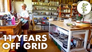11 Years Living Off-Grid in an Earthship Style House