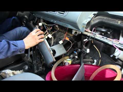 Расположение крана отопителя в Hyundai Портер