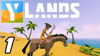 YLANDS - Build, Craft, Explore & Survive! - Episode 1 - Let's Play YLands Gameplay Playthrough