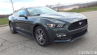 getlinkyoutube.com-2015 Ford Mustang EcoBoost Premium In-Depth Tour