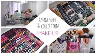getlinkyoutube.com-Mon rangement et ma collection make-up 2014 / Makeup Collection & Storage 2014