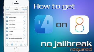 getlinkyoutube.com-How to get iFile without jailbreak on iOS 8 and iPhone 6 or iPhone 6 Plus (FileBrowser)