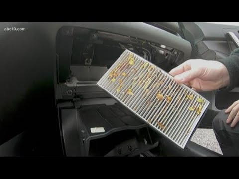 How to replace the cabin air filter in your vehicle
