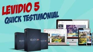 Levidio 5 PowerPoint Templates Testimonial