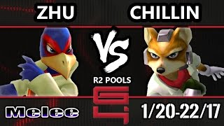 Genesis 4 SSBM - boxr | Zhu (Falco) Vs. Liquid | Chillin (Fox) Smash Melee R2 Pools