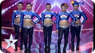 getlinkyoutube.com-Vogue Dance by Return Dancer - AUDITION 5 - Indonesia's Got Talent