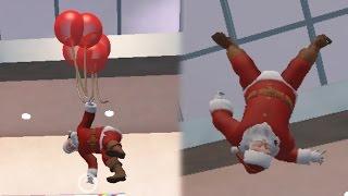 getlinkyoutube.com-LA MUERTE DE SANTA CLAUS !! - Christmas Shopper Simulator 2 | Fernanfloo