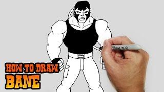 getlinkyoutube.com-How to Draw Bane- Young Justice- Video Lesson